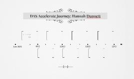 DAS Accelerate Journey: Hannah Dunnett