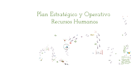 PLAN ESTRATEGICO RECURSOS HUMANOS