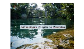 CONCESIÓN DE AGUAS