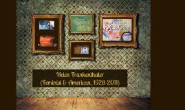 Copy of Helen Frankenthaler