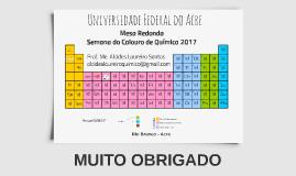 Palestra Calouros UFAC 2017