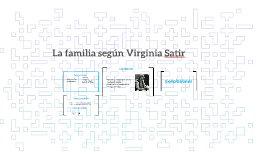 Copy of La familia segun Virginia Satir