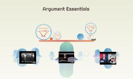 Argument Essentials