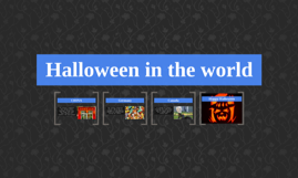 Halloween in the world