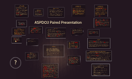 ASPDO3 Paired Presentation