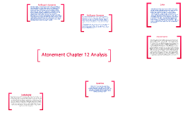 Atonement Chapter 12 Analysis