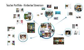 Teacher Portfolio - Kimberlee Stevenson