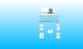 Procedimentos SDEC