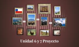 Unidad 6 y 7 Proyecto
