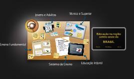 Educação na região centro-oeste do