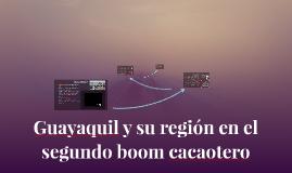 Guayaquil y su región en el segundo boom cacaotero