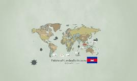 Future of Cambodia in 2020