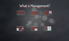 Copy of What is Management?