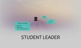 STUDENT LEADER