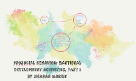 Prosocial behavior: Emotional development activities, Part i