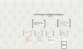 13) Personal Spelling Strategies 2