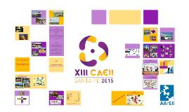 XIII CAEII Santa Fe 2015
