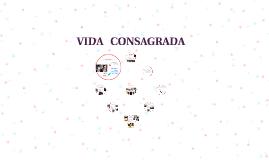 VIDA CONSAGRADA