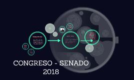 CONGRESO - SENADO 2018