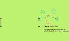 FE Y CONVERSION