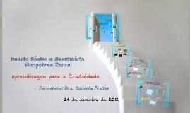 """Copy of Formação: """"Aprendizagem para a Criatividade"""""""