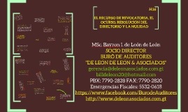 EL RECURSO DE REVOCATORIA, EL OCURSO, RESOLUCIÓN DEL DIRECTORIO Y LA NULIDAD