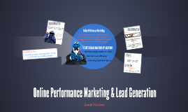 Online Performance Marketing & Lead Generation
