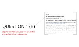Media Question 1(b)
