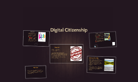 Copy of Digital Citizenship