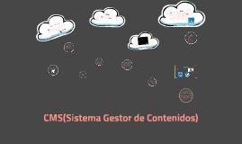 Copy of CMS(Sistema Gestor de Contenidos)