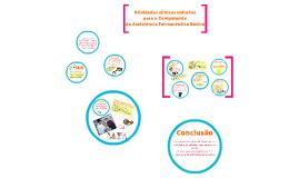 Atividades clínicas voltadas para o Componente da Assistência Farmacêutica Básica