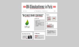 UN-Klimakonferenz in Paris