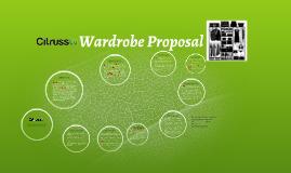 Citrusstv Wardrobe Proposal