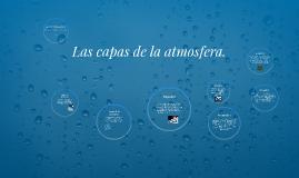 Copy of Las capas de la atmosfera.