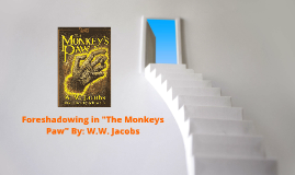 "Copy of Foreshadowing in ""The Monkeys Paw"" By: W.W. Jacobs"