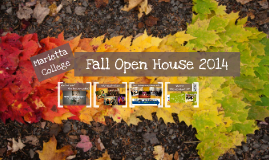 Fall Open House 2014