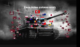 II wojna światowa- sytuacja ogólnoświatowa