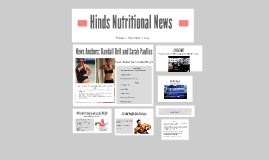 Hinds Nutritional News
