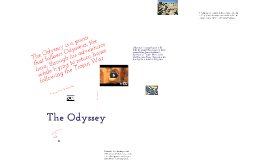 The Odyssey Introduction