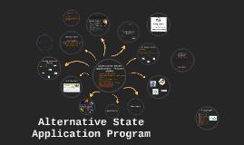 Copy of Alternative State Application Program
