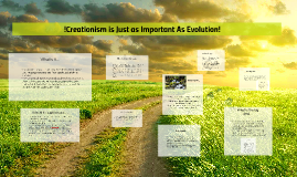 Creationism is Just as Important