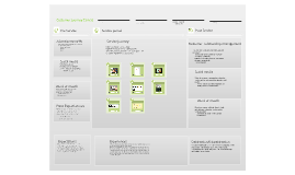 Customer Journey Canvas for Mini Sushi