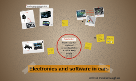 Elektronics and software in cars