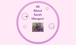 All About Sarah Mangus!