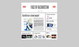 Face of Kazakhstan