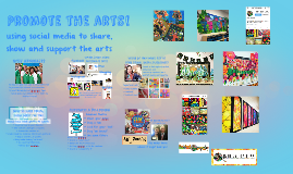 Copy of using social media to share, show and support the arts!