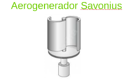 Aerogenerador Savonius