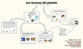 Los recursos del planeta
