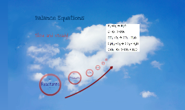Balance Equations
