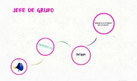 JEFE DE GRUPO